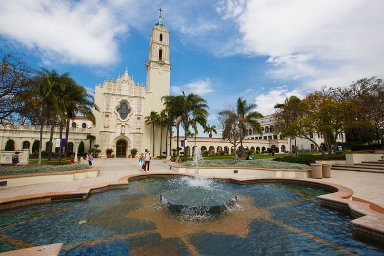 University of San Diego, San Diego, California