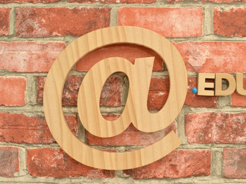 How to get an .edu email address without being in school