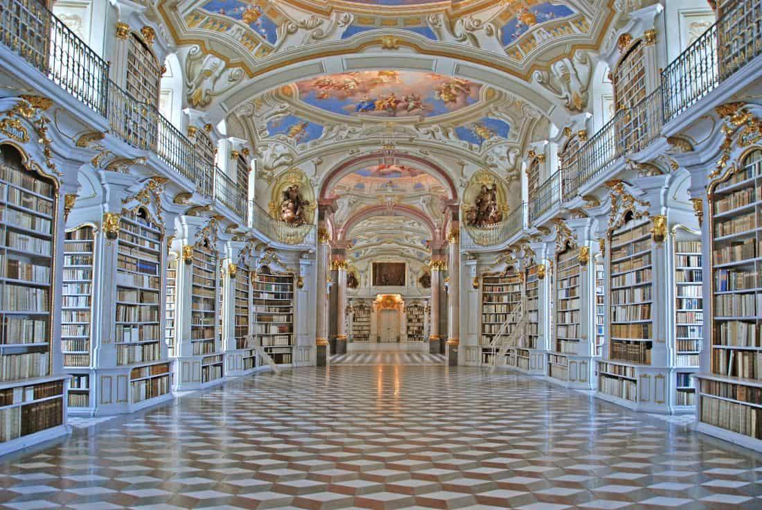 Admont Abbey Library - Admont, Austria