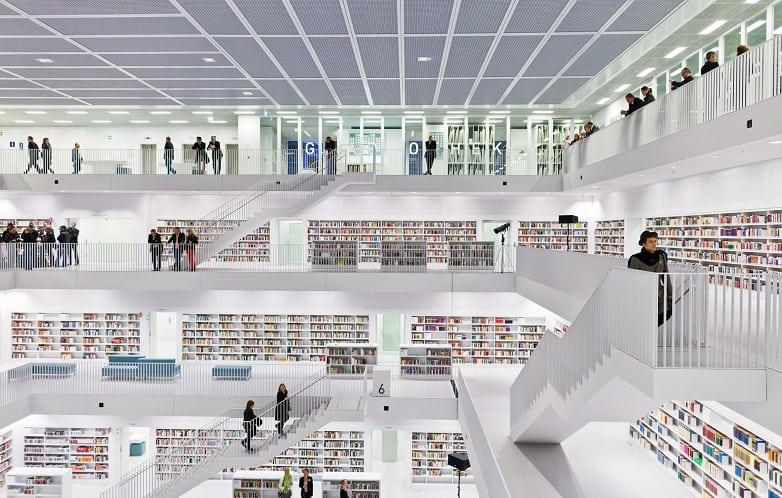 Stuttgart City Library – Stuttgart, Germany