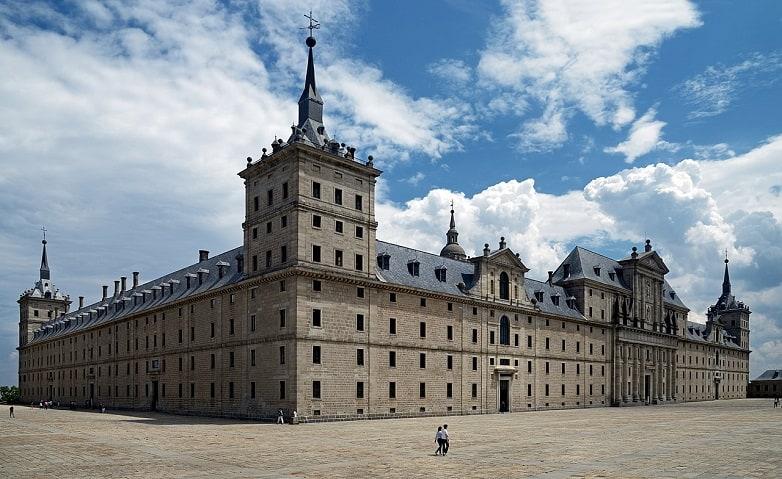 The Library of El Escorial, Spain